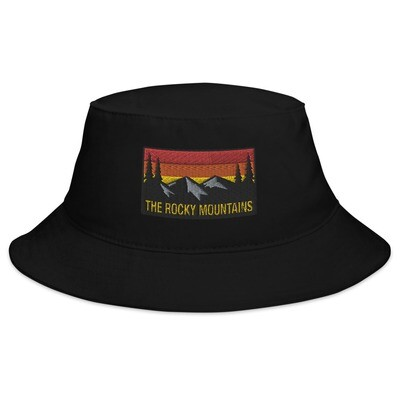 The Rocky Mountains - Bucket Hat (Multi Colors) American Canadian Rockies