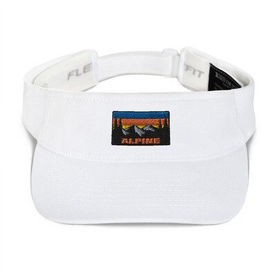 Alpine - Visor (Multi Colors) The Rockies Canadian American Rocky Mountains