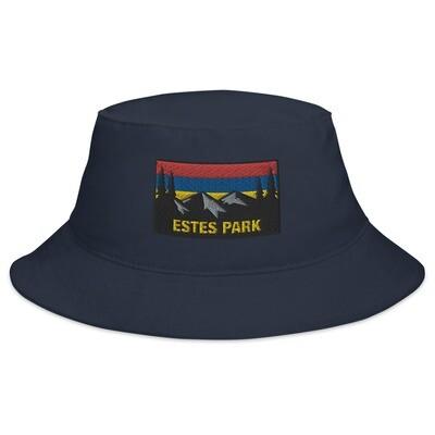 Estes Park Colorado - Bucket Hat (Multi Colors) The Rockies American Rocky Mountains
