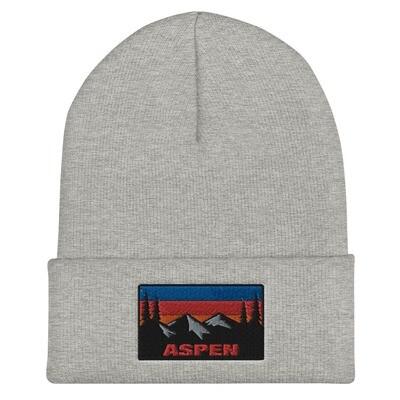Aspen Colorado - Cuffed Beanie (Multi Colors) The Rockies American Rocky Mountains