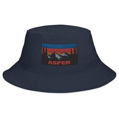 Aspen Colorado - Bucket Hat (Multi Colors) The Rockies American Rocky Mountains