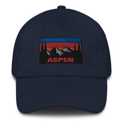 Aspen Colorado - Baseball / Dad hat (Multi Colors) The Rockies American Rocky Mountains