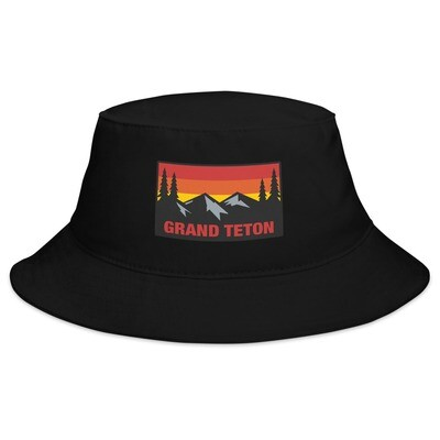Grand Teton Wyoming - Bucket Hat (Multi Colors) The Rockies American Rocky Mountains