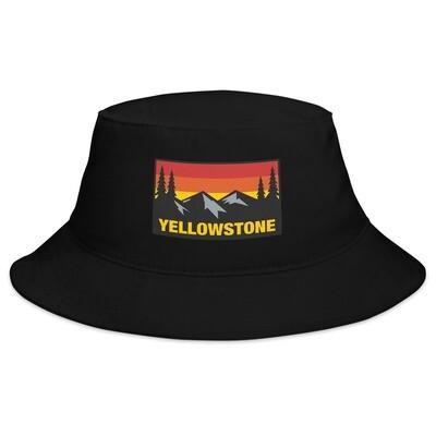 Yellowstone Wyoming Montana Idaho - Bucket Hat (Multi Colors) The Rockies American Rocky Mountains