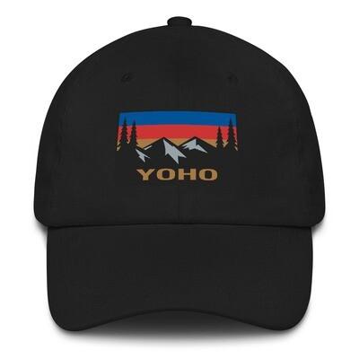 Yoho British Columbia - Baseball / Dad hat (Multi Colors) The Rockies Canadian Rocky Mountains