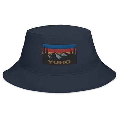 Yoho British Columbia - Bucket Hat (Multi Colors) The Rockies Canadian Rocky Mountains