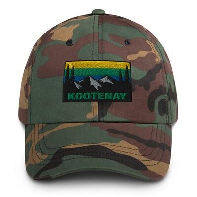 Kootenay British Columbia - Baseball / Dad hat (Multi Colors) The Rocky mountains Canadian Rockies