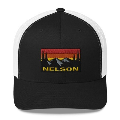 Nelson British Columbia - Trucker Cap (Multi Colors) The Rocky mountains Canadian Rockies