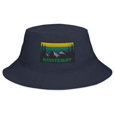 Kootenay British Columbia - Bucket Hat (Multi Colors) The rocky mountains Canadian Rockies
