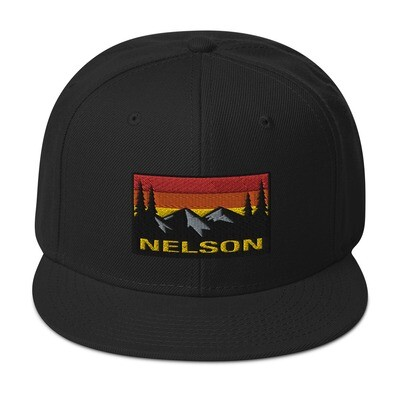 Nelson British Columbia - Snapback Hat (multi Colors) The Rocky Mountains Canadian Rockies