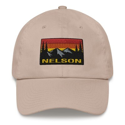 Nelson British Columbia - Baseball / Dad hat (Multi Colors) The Rocky Mountains Canadian Rockies