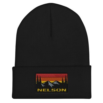 Nelson British Columbia - Cuffed Beanie (Multi Colors) The Rocky Mountains Canadian Rockies
