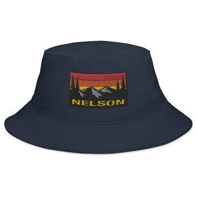 Nelson British Columbia - Bucket Hat (Multi Colors) The Rocky Mountains Canadian Rockies