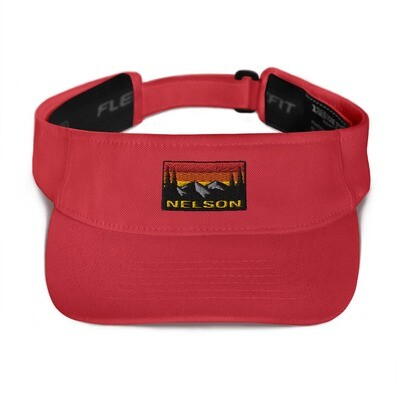 Nelson British Columbia - Visor (Multi Colors) The Rocky Mountains Canadian Rockies