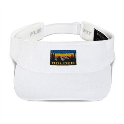 Golden British Columbia - Visor (Multi Colors) The Rockies Canadian Rocky Mountains