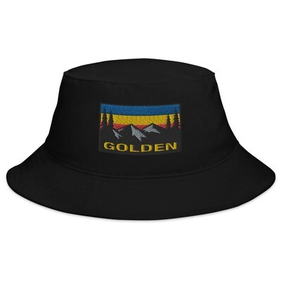 Golden British Columbia - Bucket Hat (Multi Colors) The Rockies Canadian Rocky Mountains