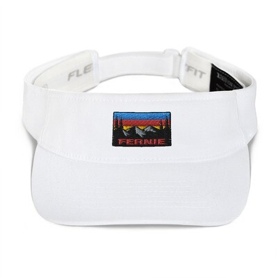 Fernie British Columbia - Visor (Multi Colors) Canadian Rocky Mountains The Rockies