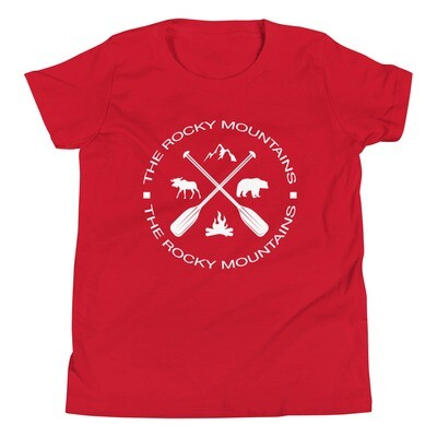 The Rocky Mountains - Youth T-Shirt (Multi Colors)