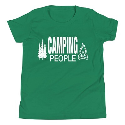 Camping People - Youth T-Shirt (Multi Colors) The Rocky Mountains