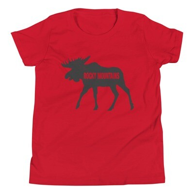 The Rocky Mountain Moose - Youth T-Shirt (Multi Colors)