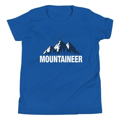 Mountaineer - Youth T-Shirt (Multi Colors) The Rocky Mountains