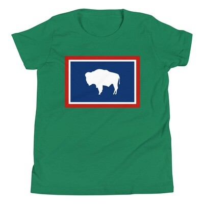 Wyoming - Youth T-Shirt (Multi Colors)