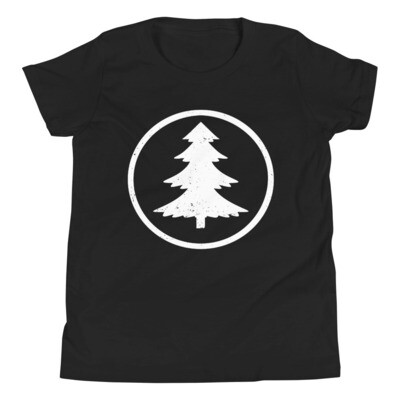 Pine Tree - Youth T-Shirt (Multi Colors)