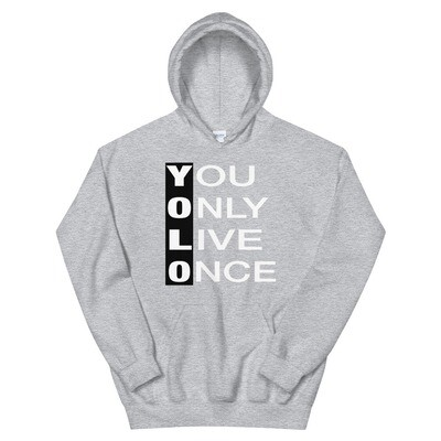 YOLO - Yolo Only Live Once - Hoodie (Multi Colors)