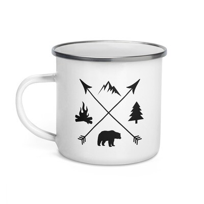 The Rockies Lifestyle - Enamel Mug