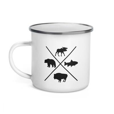 The Rockies Wildlife - Enamel Mug