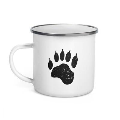 Bear Paw - Enamel Mug