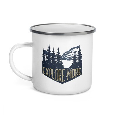 Explore More - Enamel Mug
