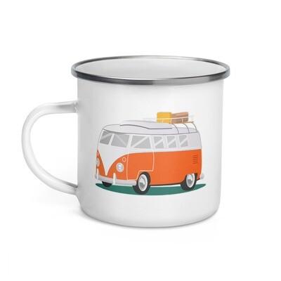 Campervan - Enamel Mug