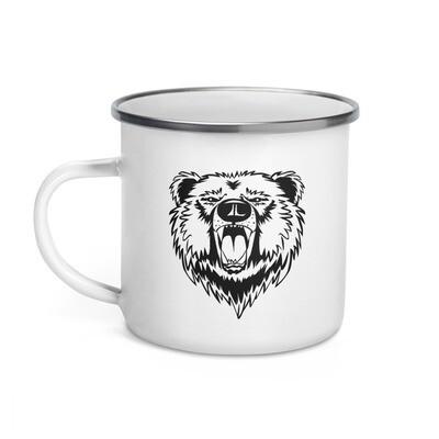 Bear - Enamel Mug