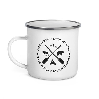 Rocky Mountain - Enamel Mug