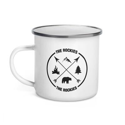 The Rockies - Enamel Mug