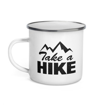 Take A Hike - Enamel Mug