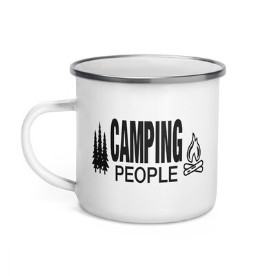 Camping People - Enamel Mug