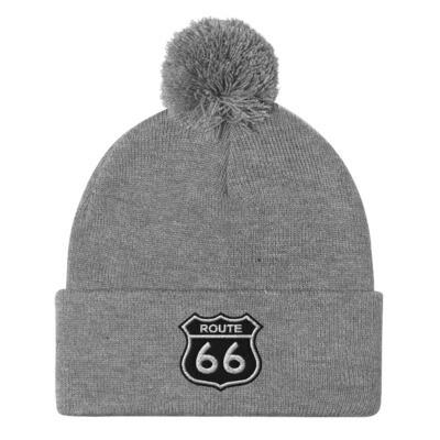 Route 66 - Pom-Pom Beanie (Multi Colors)