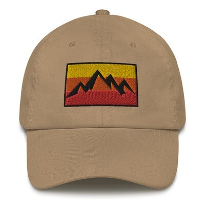 Mountain Sunset - Baseball / Dad hat (Multi Colors)