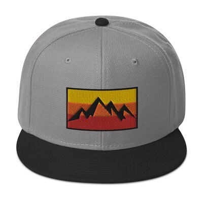 Mountain Sunset - Snapback Hat (Multi Colors)