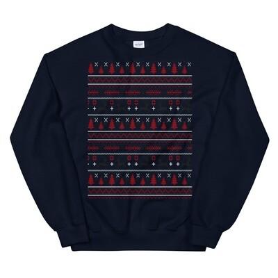 Reindeer Ugly Christmas Sweater (Multi Colors)