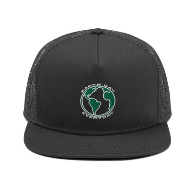 Earth Day Everyday - Mesh Back Snapback