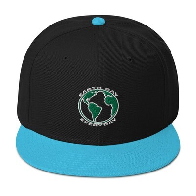 Earth Day Everyday - Snapback Hat (Multi Colors)