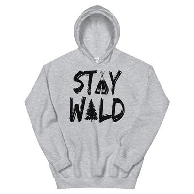 Stay Wild - Hoodie (Multi Colors)
