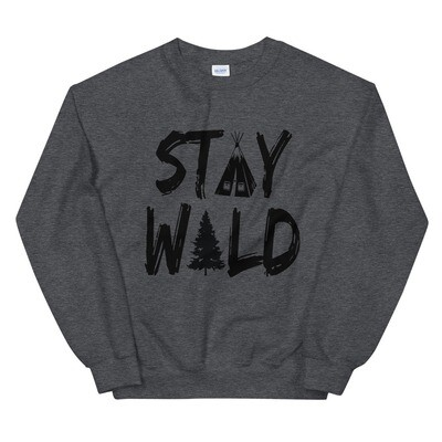Stay Wild - Sweatshirt (Multi Colors)
