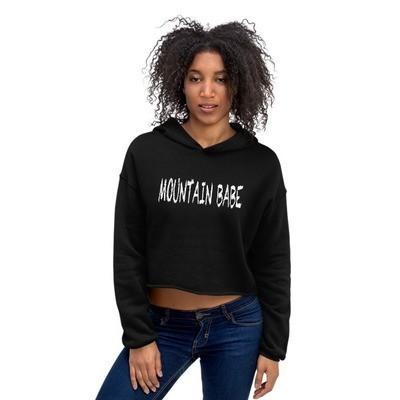Mountain Babe - Crop Hoodie