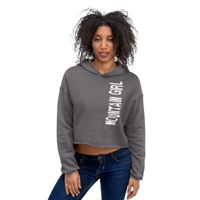 Mountain Girl - Crop Hoodie