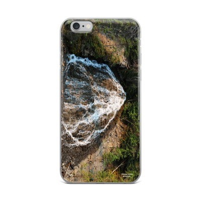 iPhone Case - Waterfalls Maligne Canyon Jasper Alberta Canada Rockies Canadian Rocky Mountains