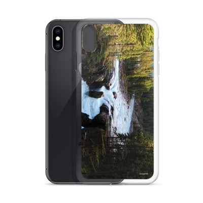 iPhone Case - Sunwapta Falls Jasper Alberta Canada The Rockies Canadian Rocky Mountains
